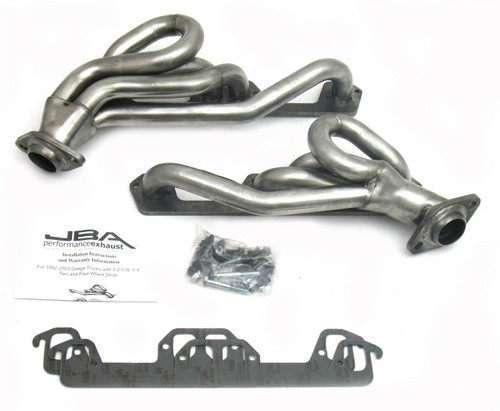 1996-2002 Dodge Dakota, Dodge Ram, Dodge Durango | 5.2L, 5.9L |  Shorty Stainless Steel Headers_JBA1945S-1