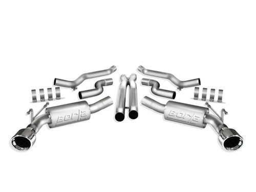 Borla 140356 | Cat-Back Exhaust | 2010-2013 Camaro SS 6.2L | ATAK Series
