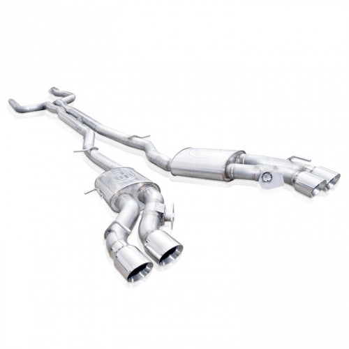 Cadillac CTS-V   6.2L Sedan   Stainless Cat Back Performance Exhaust System   Stainless Works