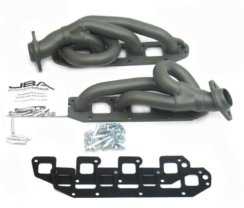 Dodge Ram 2003-2008 |  5.7L Hemi |  Stainless Titanium Ceramic Coated Shorty Headers_JBA1961-1JT