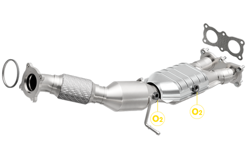 Volvo 3.2L/S80, 3.2L/V70, 3.2L/XC70, 3.2L/XC60 | B6324S2 eng code only | Direct-Fit OEM Grade Catalytic Converter Federal (Exc.CA)