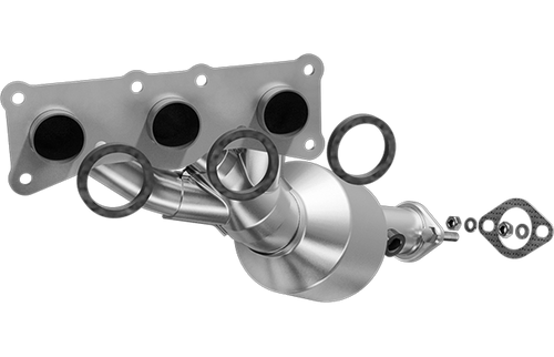 Magnaflow 553719 | BMW Z4 | 3.0L | Rear | Exhaust Manifold With Integrated Catalytic Converter | California Certified/Legal