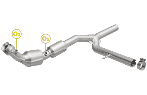Magnaflow 558706   FORD F-150, LINCOLN MARK LT   5.4L   Passenger Side   2WD   Catalytic Converter-Direct Fit   California Certified EO D-193-131