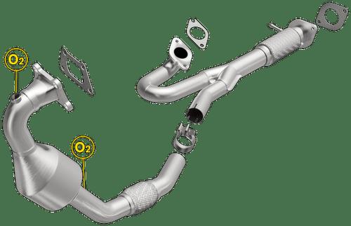 Magnaflow 558219 | CADILLAC SRX | 3L | BANK 2 |Drivers Side (FRONT) | Catalytic Converter-Direct Fit | California Legal | EO# D-193-131
