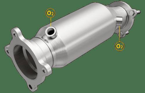 Magnaflow 52292 | Audi A6/A6 Quattro | 2.0L | Direct-Fit OEM Grade Catalytic Converter Federal (Exc.CA)