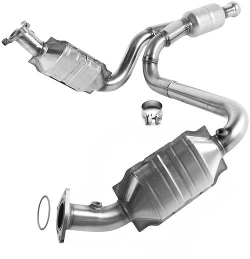 Cadillac Escalade | Chevrolet Avalanche/Suburban 1500/Tahoe/Silverado 1500 | GMC Sierra 1500/Yukon/Yukon XL 1500 | 4.8L, 5.3L, 6L, 6.2L | 4WD | Catalytic Converter-Direct Fit | OEM Grade EPA