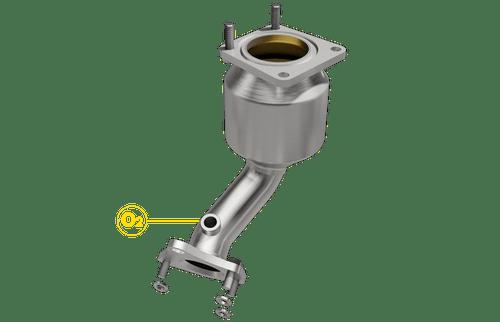 Magnaflow 551163 | Nissan Altima | 3.5L | Rear Manifold Converter| Bank 1| Direct-Fit California Legal Catalytic Converter | EO D-193-133