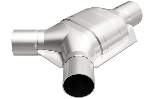 """Magnaflow 557407   2"""" Inlet/2.5"""" Outlet   Universal California Legal OBDII Catalytic Converter   EO# D-193-133"""