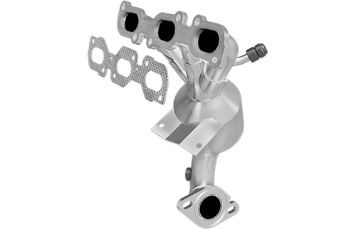 Magnaflow 553388   Ford/Lincoln/Mercury   Fusion/Zephyr/Milan   3.0L   FWD    Rear Manifold with integrated catalytic converter   California / NY Legal   EO D-193-130