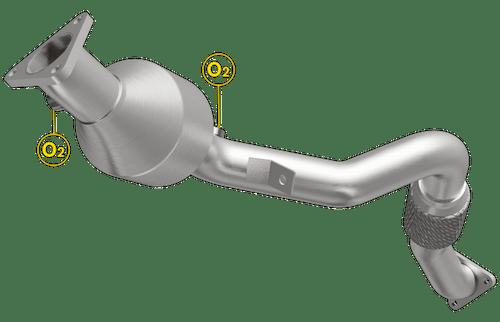 Magnaflow 558586 | Audi Q7/Volkswagen Toureg | 3.6L | Passenger Side | Direct-Fit  Catalytic Converter | California Legal, New York Legal | EO D-193-131