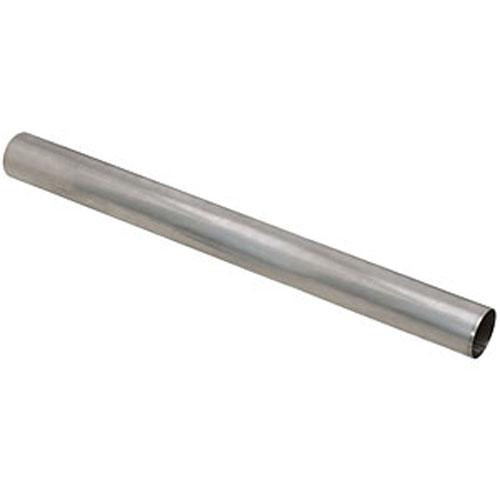 "Straight Tubing 2.5"" Stainless 409 - 3 foot length"