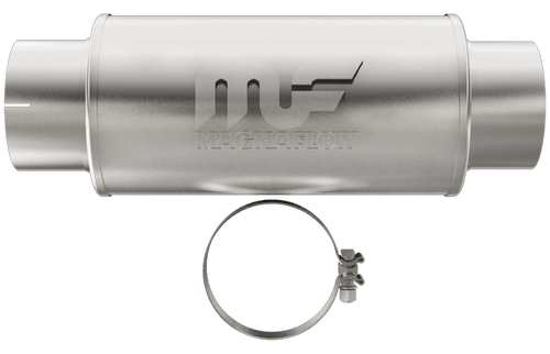 "Magnaflow 12775 | Satin Stainless Muffler | 4"" inlet/outlet, 4"" Core"