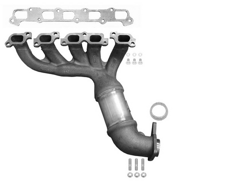 CHEVROLET COLORADO, GMC CANYON, HUMMER H3, ISUZU I-370 | 3.7L | Front manifold with integrated catalytic converter | Direct Fit | California-NY Legal and approved