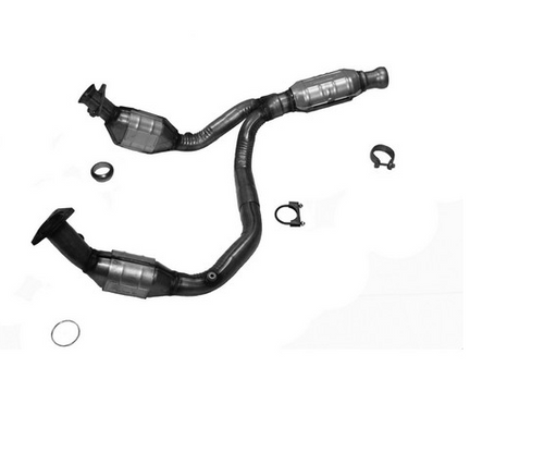 CADILLAC ESCALADE, CHEVROLET AVALANCHE/SUBURBAN 1500/TAHOE/SILVERADO 1500, GMC SIERRA 1500/YUKON/YUKON XL 1500 | 4.8L/5.3L/6L | Catalytic Converter-Direct Fit | California Legal | EO# D-798