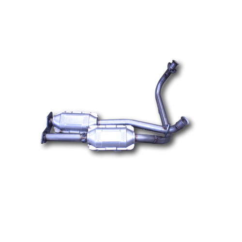 Aluminized Tube/Stainless Cores | Cadillac/Chevrolet/GMC 5.7L  ( Dual Inlet Muffler Systems Only) | Except over 8500 Lbs GVW | Catalytic Converter Direct Fit 49 State (Exc.CA)