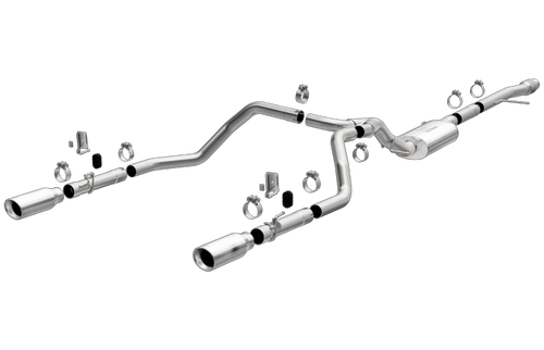 Magnaflow 19471 | Chevrolet/GMC 1500 | 5.3L  | Extended/Crew Cab | Stainless Series | Dual Rear Exit-below bumper | Stainless Performance Exhaust System
