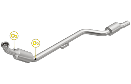 Magnaflow 5411806 | Mercedes-Benz CLK320 | 3.2L | Passenger Side | Direct-Fit California Legal Catalytic Converter OBDII | EO# D-193-135