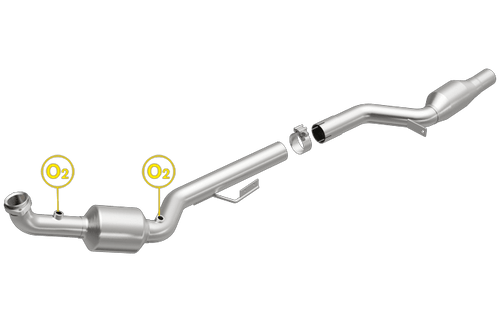 Magnaflow 5411702 | Mercedes-Benz SLK55 AMG | 5.5L | Passenger Side | Direct-Fit California Legal Catalytic Converter OBDII | EO# D-193-135