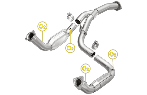 Magnaflow 21-252 | Chevrolet Silverado 2500HD 3500HD | GMC Sierra 2500HD 3500HD | 6.0L | 2 converter assembly |  Direct-Fit OEM Grade Catalytic Converter Federal (Exc.CA)