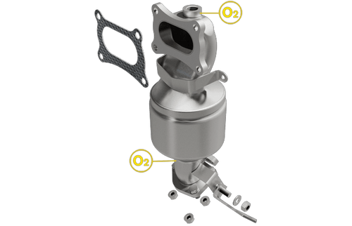 Magnaflow 5531893 | Honda Accord | Acura RL | 3.5L, 3.7L | Bank 2 | Front Manifold | Catalytic Converter-Direct Fit | California/Ny Legal | D-193-137