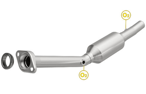 Magnaflow 4481182 | Scion XA | Toyota Echo | 1.5L | Direct-Fit California Legal Catalytic Converter OBDII | EO# D-193-139