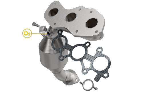 Magnaflow 5581556 | Toyota Sienna | 3.5L | FWD | Rear Exhaust Manifold | Direct Fit California Legal Catalytic Converter | EO# D-193-138