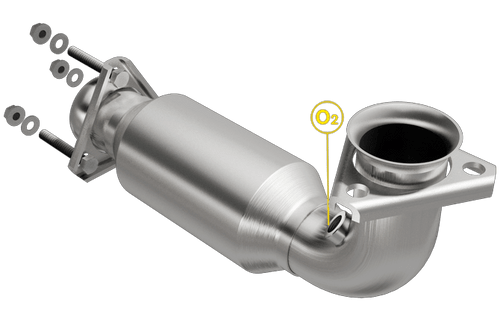 Magnaflow 4481409 | Chevrolet Corvette | 5.7L | Driver Side | Direct-Fit California Legal Catalytic Converter OBDII | EO# D-193-139