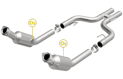 Magnaflow 5561001 | FORD MUSTANG | 4.6L | Catalytic Converter-Direct Fit | California Legal | EO# D-193-141