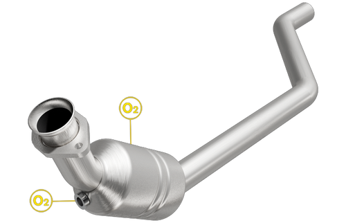 Magnaflow 5461224 | Jaguar S-Type | 4.2L | Naturally Aspirated | Driver Side | Direct-Fit California Legal Catalytic Converter OBDII | EO# D-193-140