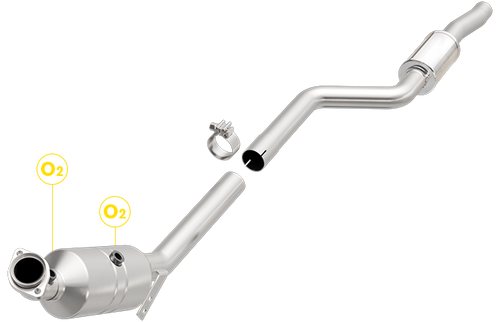 Magnaflow 5461919 | Mercedes-Benz C300 | 3L | AWD Passenger Side | Direct-Fit California Legal Catalytic Converter OBDII | EO# D-193-140