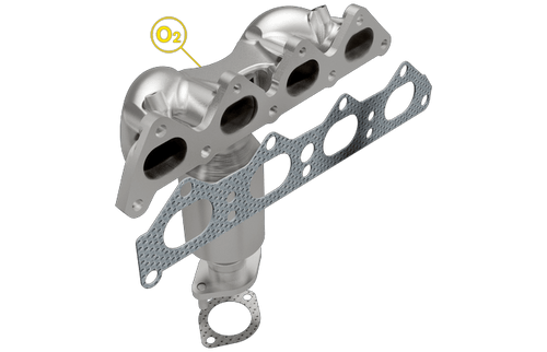 98985531330   Hyundai Elantra(AUTOMATIC Trans)   Hyundai Tiburon(All)   Kia Spectra( Automatic Trans)   Spectra5(Automatic Trans) /Soul(All)   2.0L   Front Manifold Catalytic Converter Assembly   California/New York Legal   EO D-193-137