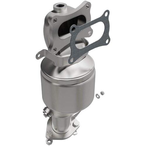 Magnaflow 5582893 | Acura RDX 3.5L, MDX 3.7L | Honda Odyssey, Pilot, Ridgeline | 3.5L | Front Manifold | California Legal Catalytic Converter | EO#D-193-148