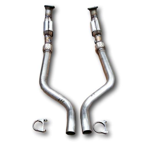 2005-2007   CHRYSLER 300, DODGE MAGNUM/CHARGER   5.7L   Driver Side + Passenger Side   RWD   Catalytic Converter-Direct Fit   OEM Grade