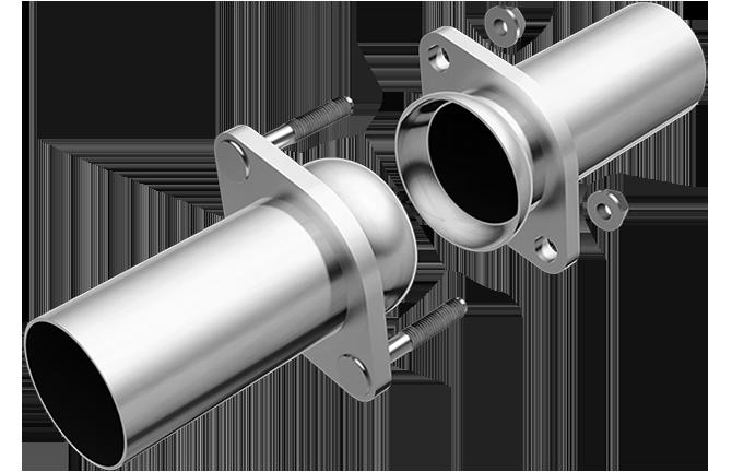 "Magnaflow 10743 | 2.25"" | Ball Flange | Universal Pipe"