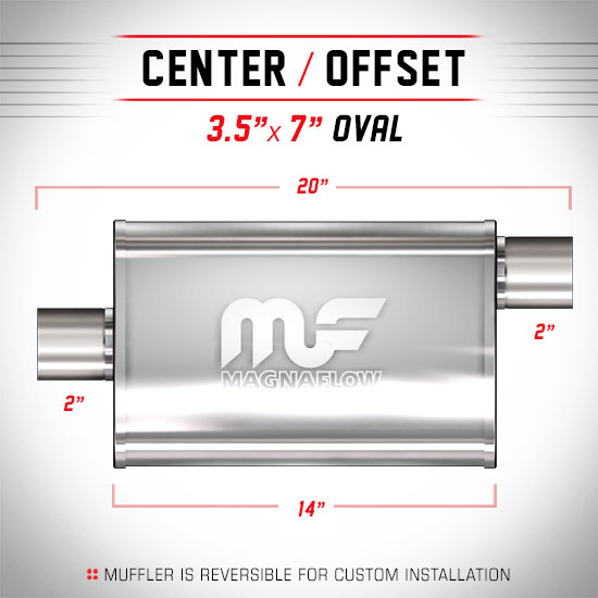 Magnaflow 11124_Satin Stainless Muffler