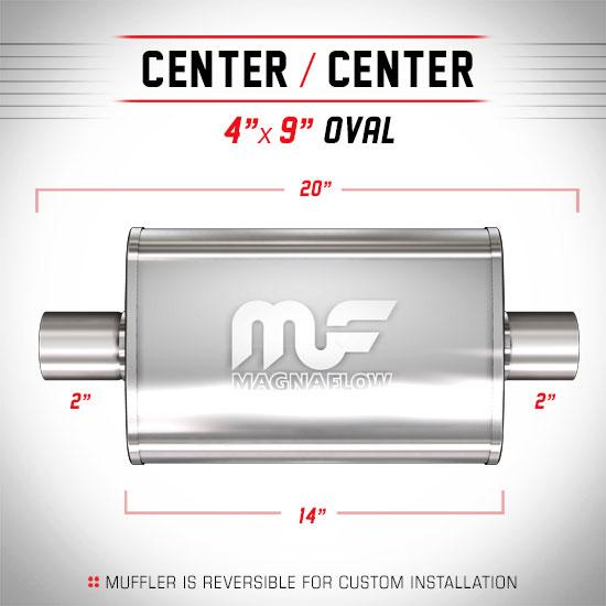 Magnaflow 11214_Satin Stainless Muffler