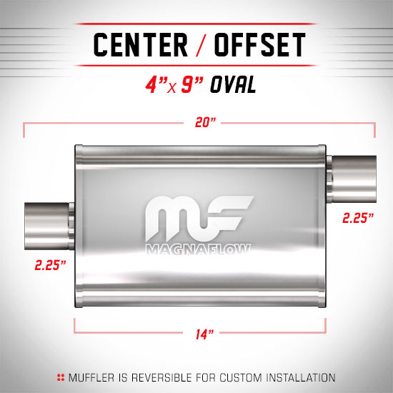 Magnaflow 11225_Satin Stainless Muffler