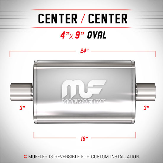 Magnaflow 11249_Satin Stainless Muffler