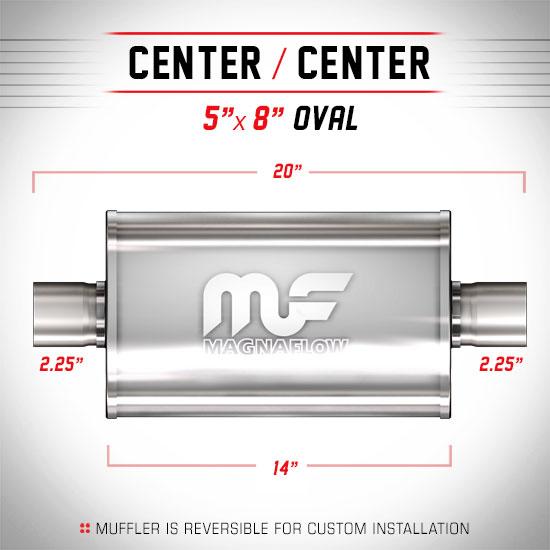 Magnaflow 12215_Satin Stainless Muffler