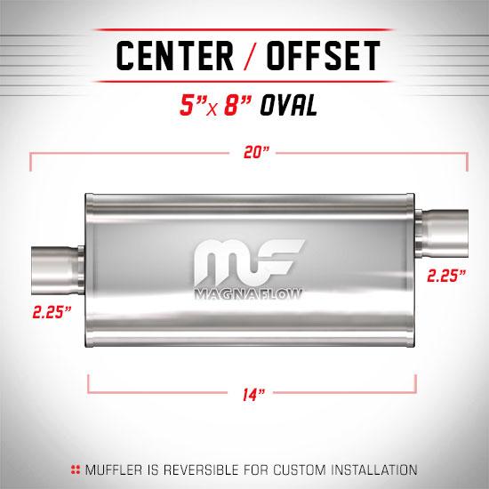 Magnaflow 12225_Satin Stainless Muffler