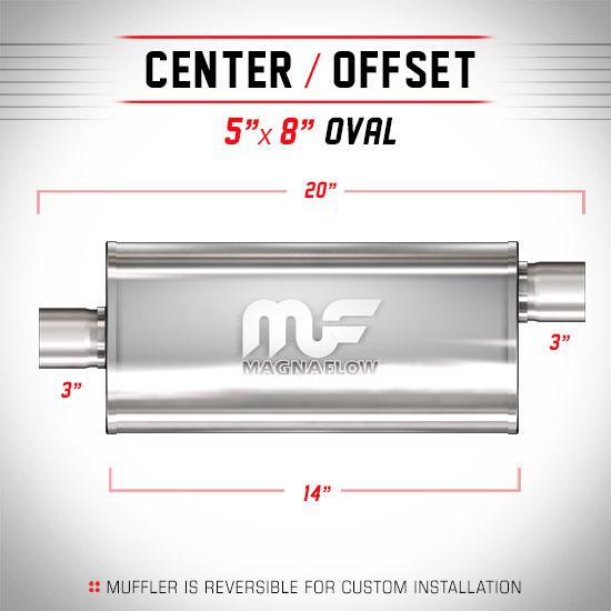 Magnaflow 12229_Satin Stainless Muffler