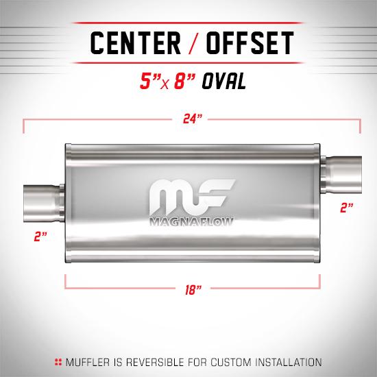 Magnaflow 12254_Satin Stainless Muffler