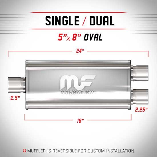 Magnaflow 12258_Satin Stainless Muffler