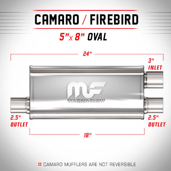 Magnaflow 12267_Satin Stainless Muffler