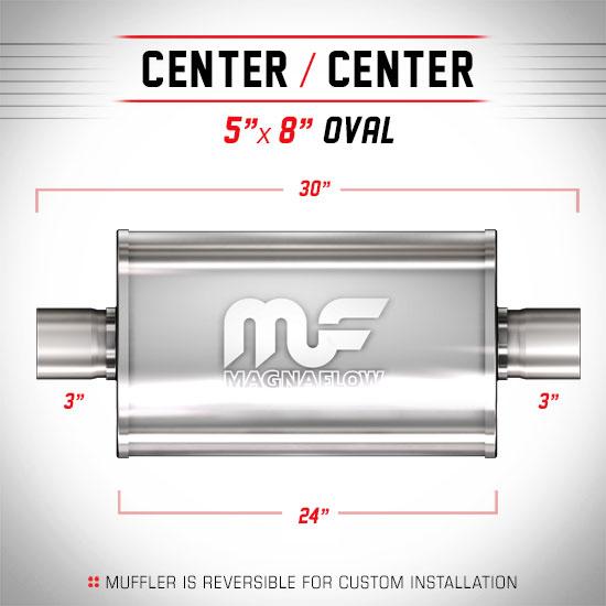 Magnaflow 12279_Satin Stainless Muffler