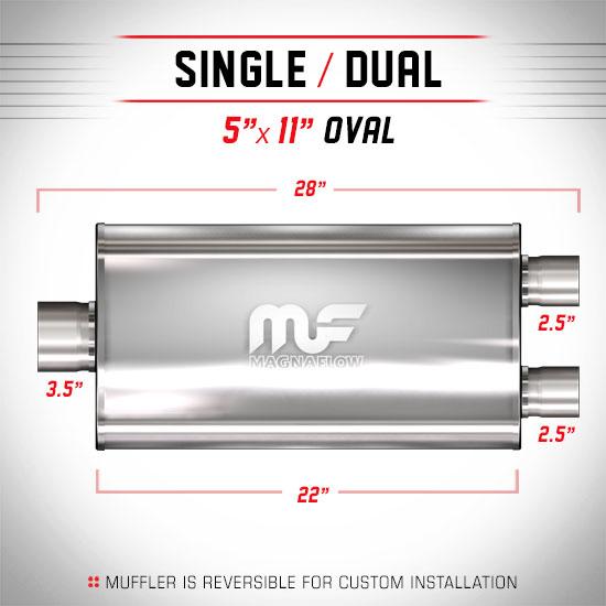 Magnaflow 12587_Satin Stainless Muffler
