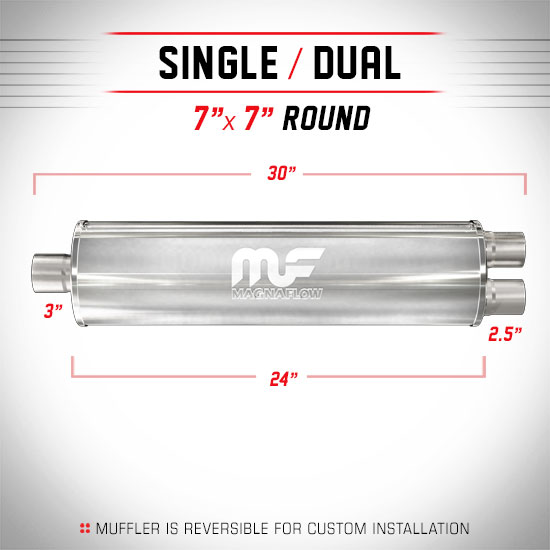 Magnaflow 12763_Satin Stainless Muffler