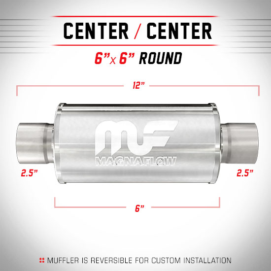 Magnaflow 14158_Polished Stainless Muffler