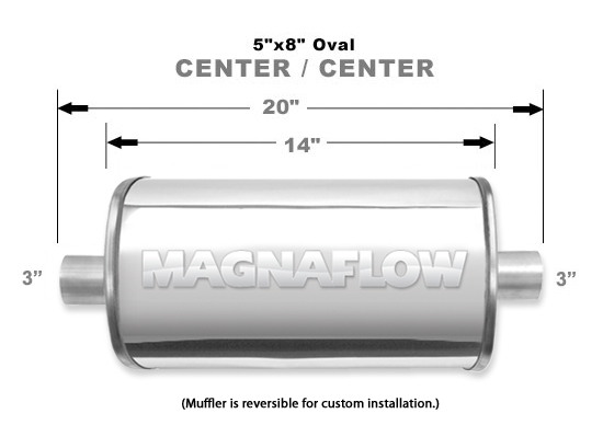 Magnaflow 14219_Polished Stainless Muffler