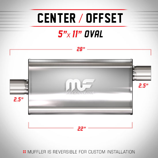 Magnaflow 14586_Polished Stainless Muffler